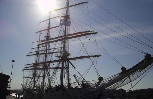 Oslo Hafen in der Wintersonne @reiseidylle