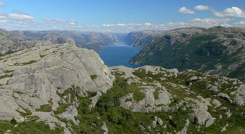 Lysefjord Norwegen flickr @fihu