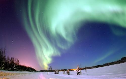 Nordlicht - Polarlicht flickr @Trodel