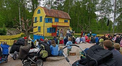 Astrid Lindgrens Värld flickr @Allie Caulfield