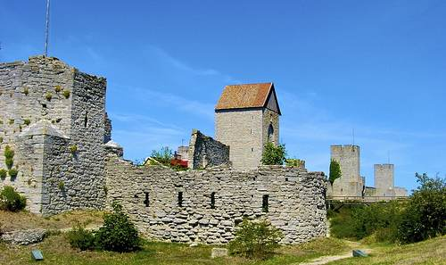 Visby auf Gotland - Stadtmauer flickr @Hakan Nylen