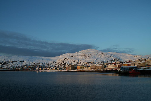 Hammerfest Norwegen flickr @ Eirik Neweth