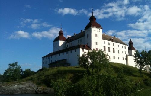 Läcko Slott - Schloss Läcko am Värnern bei Lidköping @Reiseidylle