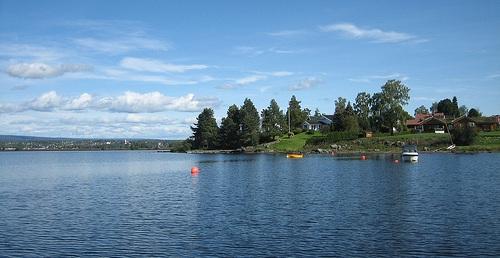 Mjøsa See in Norwegen flickr (c) Sindre-Wimberger CC-Lizenz