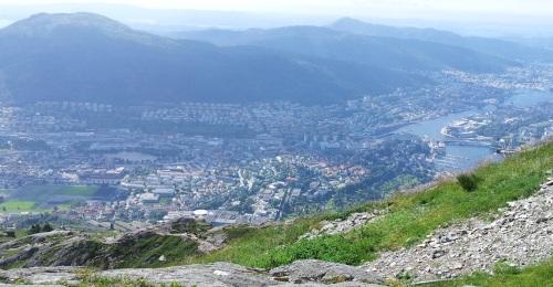 Bergen in Norwegen (c) reiseidylle.de
