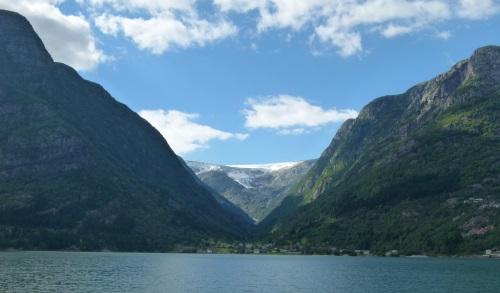 Åkrafjord in Norwegen