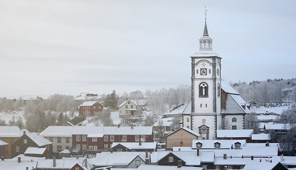 Røros in Norwegen